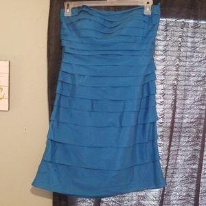 Strapless dress by Antonio Melani